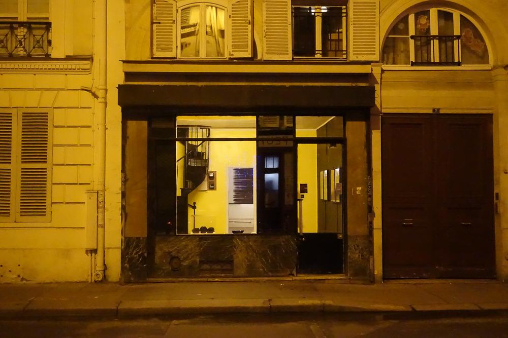 Cive, souffle saturé & fusion perdue, Jerome Poret, L'Espace d'en bas